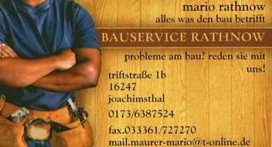 Bauservice Rathnow